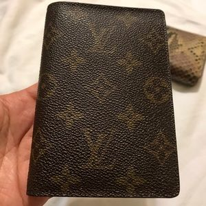 Handbags - Louis Vuitton passport holder